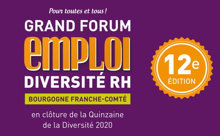 Save The Date – Forum Emploi Diversité RH & RSE 2020