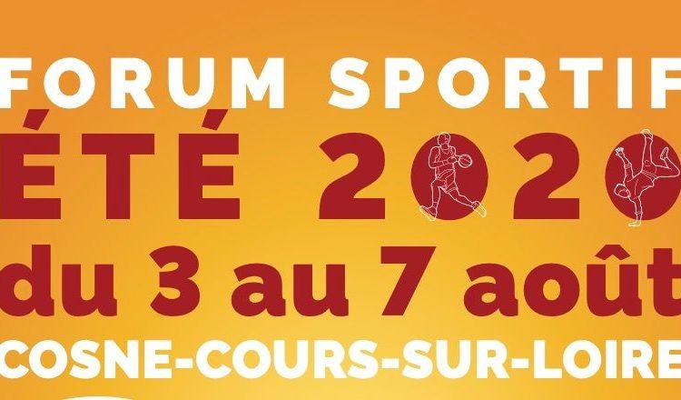 Forum Sportif 9-17 ans à Cosnes-sur-Loire