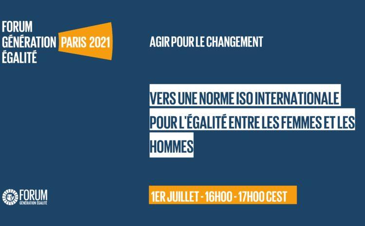 Le Forum #Génération égalité, le rassemblement féministe mondial le plus important des 25 dernières années